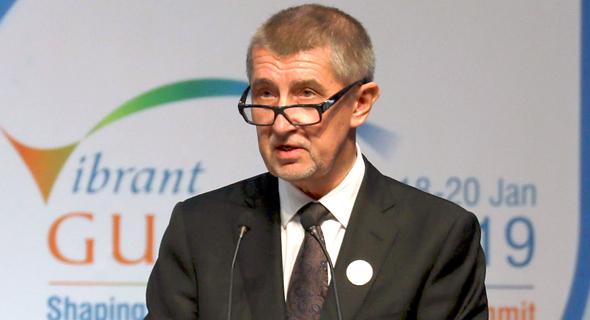 ראש ממשלת צ'כיה אנדריי באביש