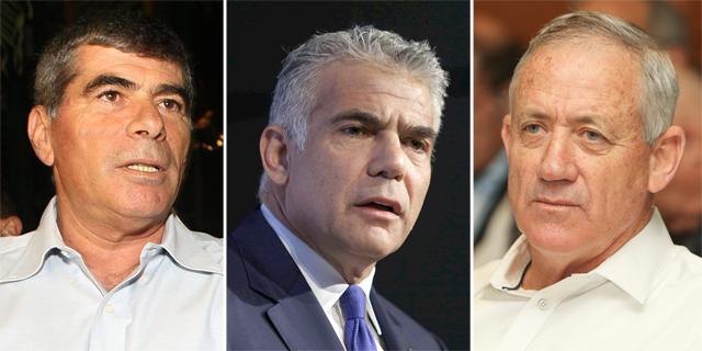 מפץ פוליטי: גנץ, לפיד ואשכנזי הודיעו על הקמת רשימה חדשה