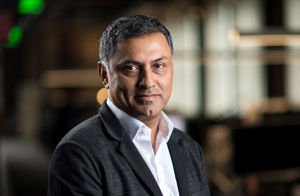 Palo Alto CEO and chairman Nikesh Arora. Photo: Bloomberg