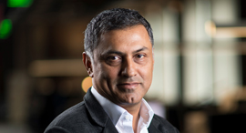 Palo Alto CEO and chairman Nikesh Arora. Photo: Bl