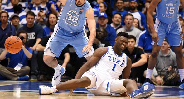 נייקי בצרות. נקרעה הנעל של כוכב הכדורסל זאיון וויליאמסון
