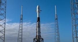 משגר ה חללית ישראלית SpaceIL , צילום: spaceX