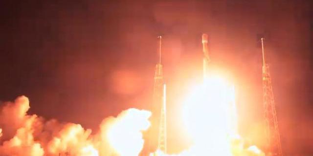 השיגור עבר בהצלחה, צילום: spaceX