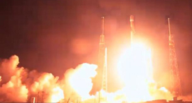 Beresheet launch. Photo: SpaceX