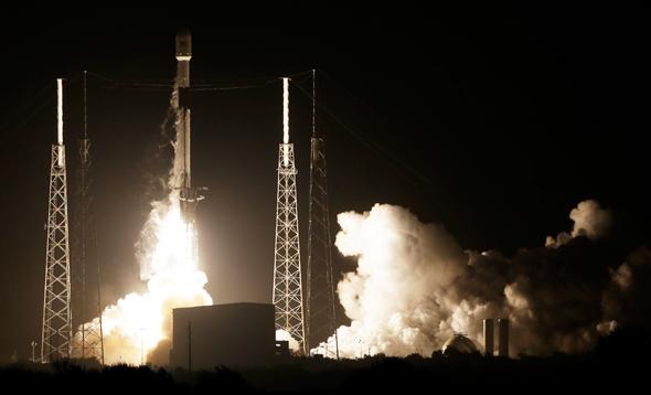 Beresheet's launch. Photo: AP
