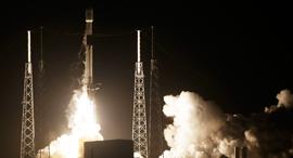 שיגור החללית בראשית, צילום: איי פי