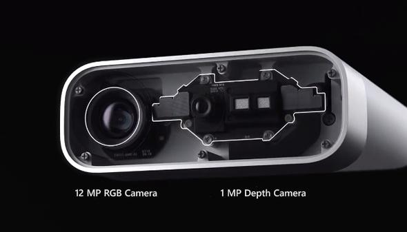 מצלמת Azure Kinect, צילום: צילום מסך