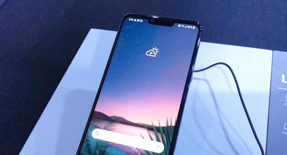 LG סמארטפונים G8 V50 1, צילום: עומר כביר