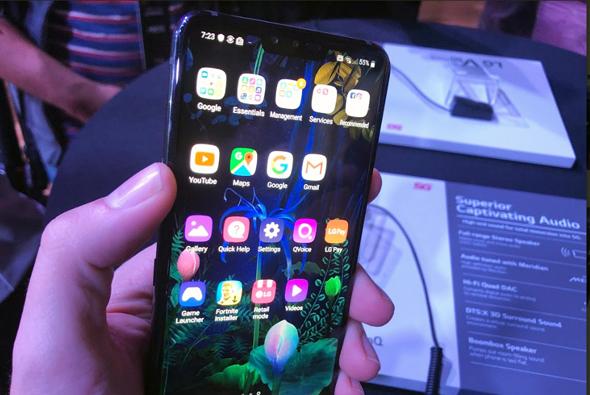 LG סמארטפונים G8 V50 5, צילום: עומר כביר