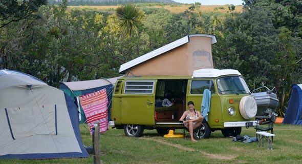 קרוואן בניו זילנד. פתרון זול ליוקר הדיור, צילום: שאטרסטוק