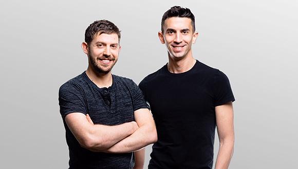 Dan Yadlin (left) and Itay Malinger. Credit: Nathaniel Tobias