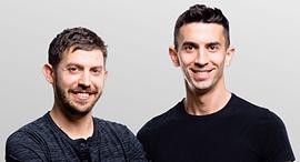 Curv co-founders. Photo: Netanel Tobias
