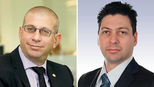 מימין: טמיר שפירא ואלדד תמיר , צילום: מוטי מילרוד