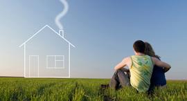 דיור עכשיו משכנתא בית דירה זוגות צעירים זוג צעיר חדש, צילום: shutterstock