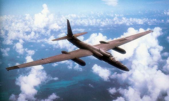 בנוי במיוחד לטיסה גבוהה. מטוס הביון U2