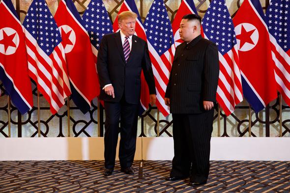 קים ג'ונג און צפון קוריאה טראמפ וייטנאם 1, צילום: רויטרס