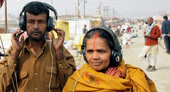 משתמשים באפליקציות סטרימינג מוזיקליות בהודו