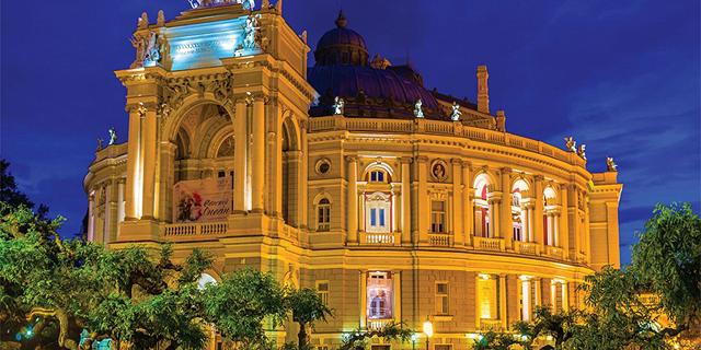 """התיאטרון הלאומי לאופרה ובלט באודסה זירת הנדל""""ן, צילום: גרין פארק"""