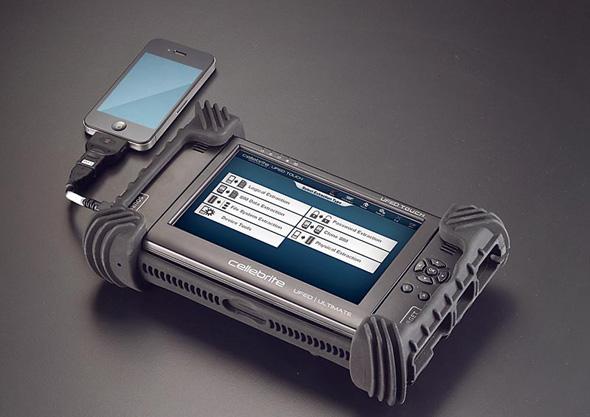 ציוד פריצה לטלפונים מתוצרת סלברייט הישראלית, צילום: סלברייט