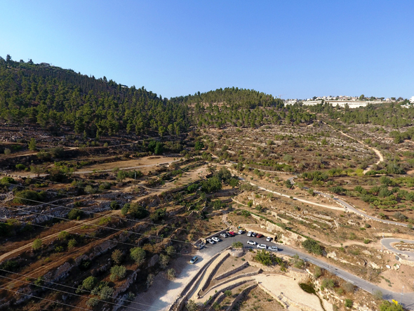 רכס לבן, הרי ירושלים