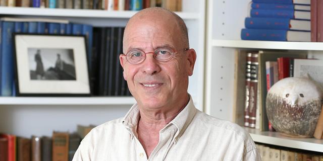 הסופר מאיר שלו, צילום: אלעד גרשגורן