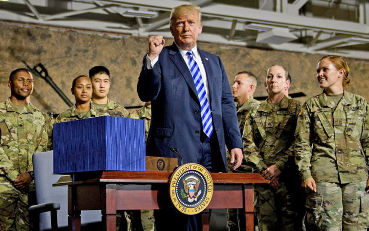 """דונלד טראמפ, ארה""""ב, צילום: AFP"""