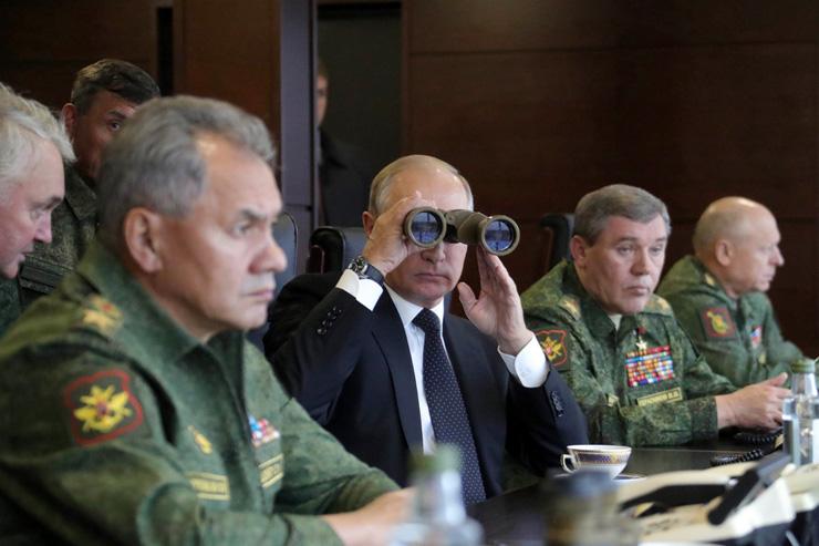 ולדימיר פוטין, רוסיה