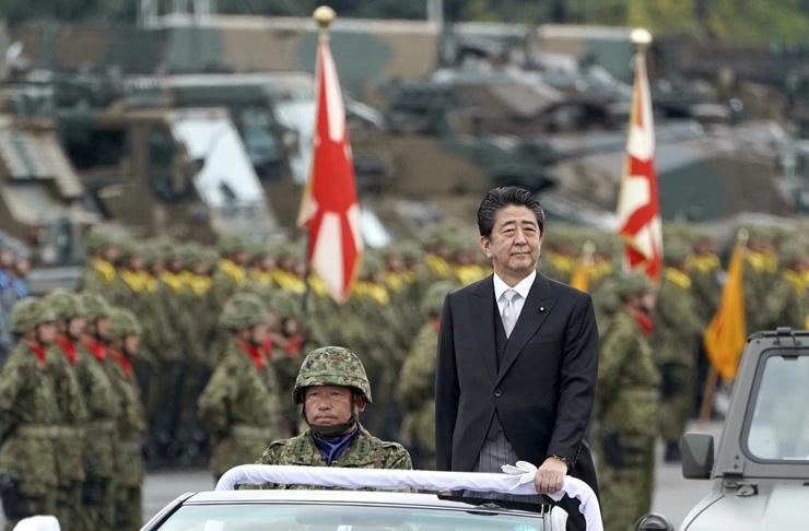 שינזו אבה, יפן, צילום: AP