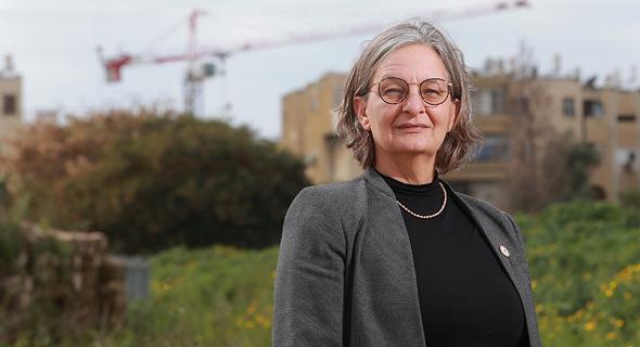 """דניאלה פוסק, יו""""ר הוועדה המחוזית. יזמה את השינוי בייעוד הדירות"""