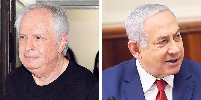 בנימין נתניהו ושאול אלוביץ