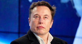 """אלון מאסק מייסד מנכ""""ל טסלה ספייס X SpceX, צילום: רויטרס"""