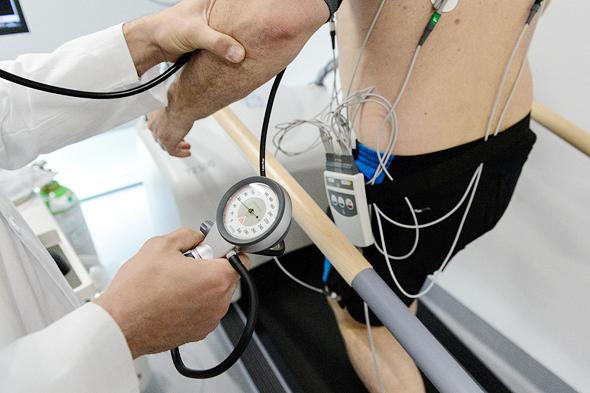 מבדק כושר. ניתוח הנתונים יסייע לשמירה על היעדים ועל הבריאות