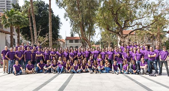 SentinelOne's team. Photo: Dima Revelis