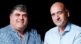 מימין פיני יעקובי ו אמיר יעקובי , צילום: עמית שעל