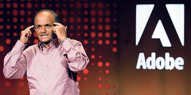 """שנטאנו נריאן, מנכ""""ל אדובי, צילום: בלומברג"""