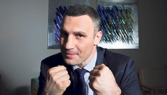 ולדימיר קליצקו, צילום: ריאן פרויס