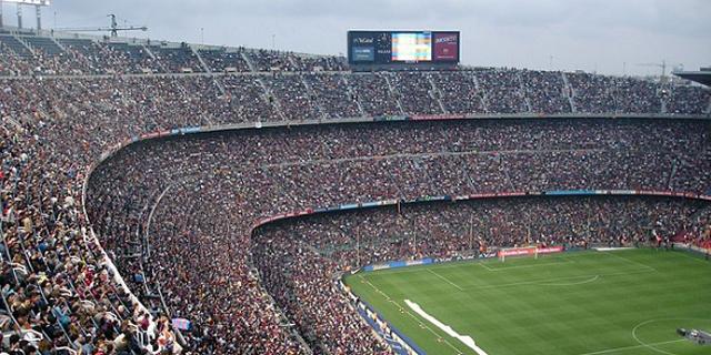 כדורגל ללא קהל. זה עשוי להיות מעניין מבחינה מדעית