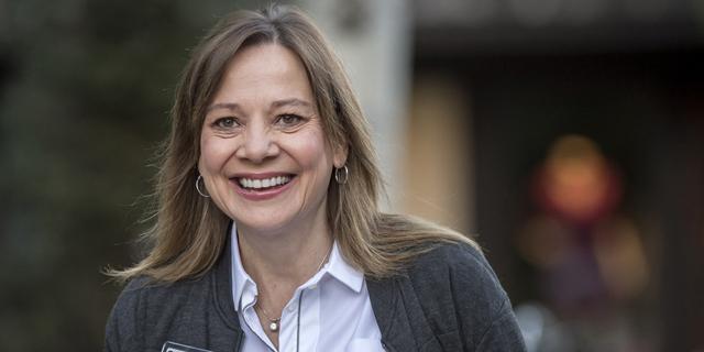 """מארי בארה, מנכ""""לית GM. עומדת בראש החברה הגדולה ביותר, צילום: בלומברג"""