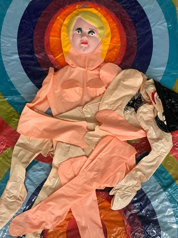 """העבודה """"אם ובנה"""" של ליהי שני, צילום: ליהי שני"""