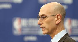 אדם סילבר קומישינר ה-NBA , צילום: איי אף פי