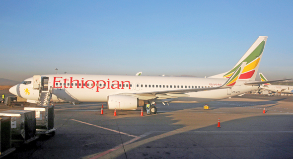 בואינג 737 של חברת אתיופיאן איירליינס