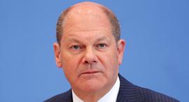שר האוצר הגרמני, אולף שולץ, צילום: בלומברג