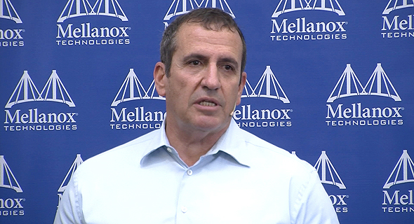 Mellanox Presidnet and CEO Eyal Waldman. Photo: Dor Manuel