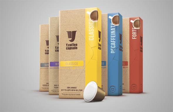 """קפסולות מהמותג הפרטי של yellow. """"הקפה הוא עוגן של הרשת"""""""
