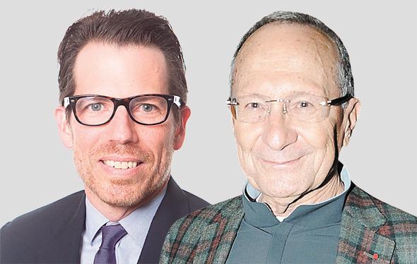 """מימין סמי סגול ו אלחנדרו פנה מנכ""""ל כתר העולמית, צילום: Carlos Aristizabal"""
