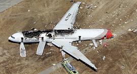 התרסקות מטוס תאונה הקברניט התרסקות מטוס אייר אסיאנה יולי 2013 סן פרנסיסקו