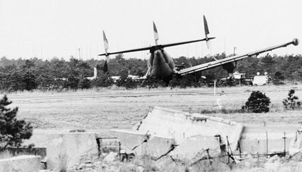 נחיתת אונס של מטוס לוקהיד סופר קונסטליישן בשנות החמישים, צילום: BAAA
