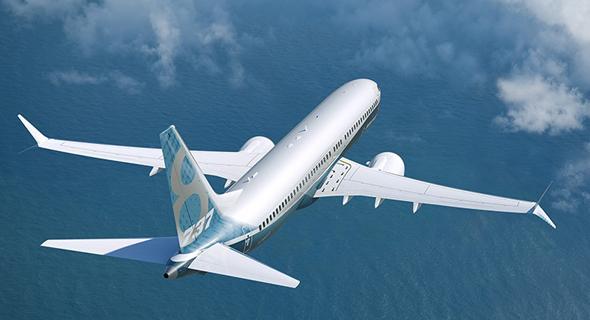 מטוס 737 מקס באוויר, צילום: Boeing