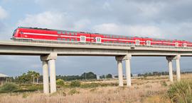 רכבת ישראל נוסעת, צילום: דוברות רכבת ישראל