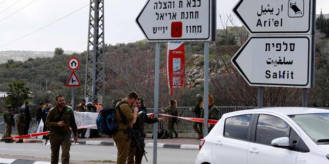 פיגוע משולב ליד אריאל: הרוג ופצועים אנוש וקשה